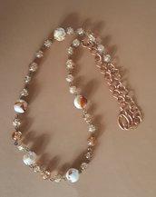 collana perle lampwork