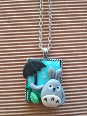 Collana Totoro Studio Ghibli Fimo