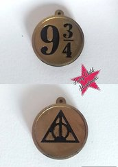 Set 2 ciondoli Harry Potter