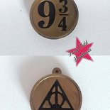 Set 2 ciondoli Harry Potter