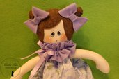 Bambola in stoffa Margherita