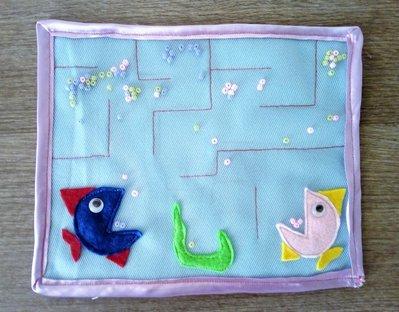 quiet tablet labirinto dei pesci