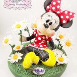"""Cake topper """"Un fiore per..."""" (personalizzabile)"""