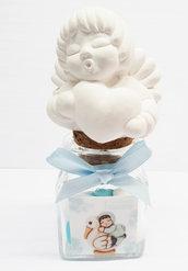 Bomboniera angioletto Thun_Simil profumatore Battesimo confetti