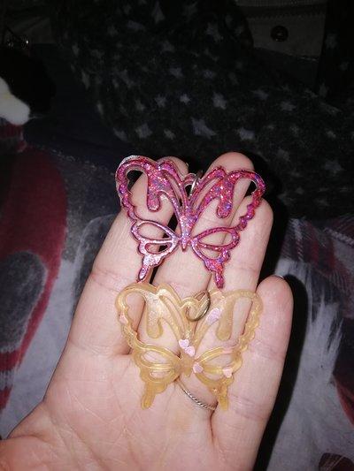 ciondoli farfalline colorate