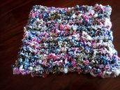 sciarpa in lana colorata