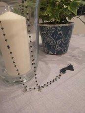 Collana catena rosario
