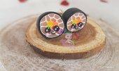 orecchini fimo sushi kawaii- sushi kawaii earrings