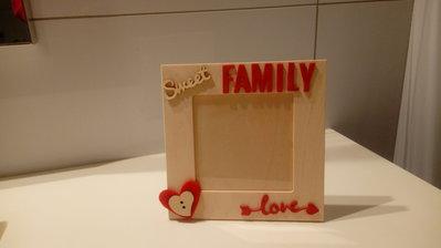 Cornice portafoto 16x16 multistrato sweet FAMILY