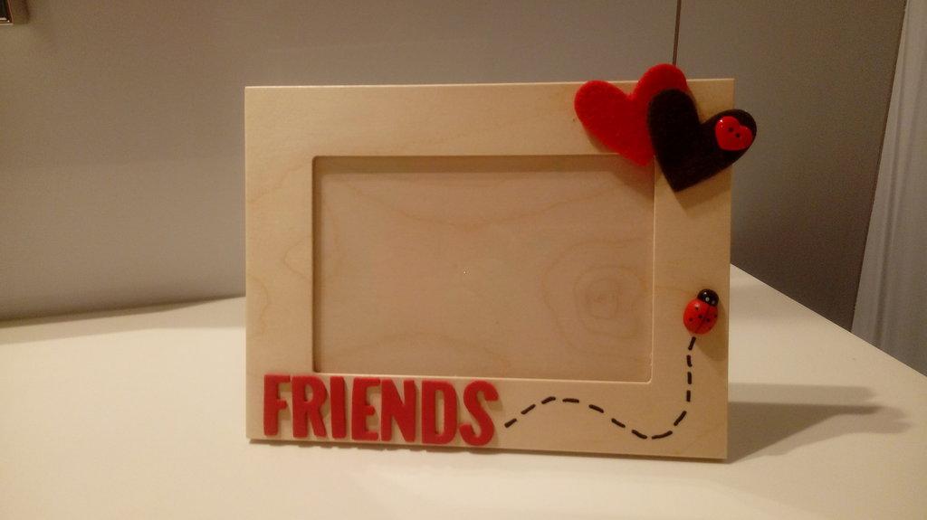 Cornice portafoto 10x15 multistrato FRIENDS
