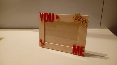 Cornice portafoto 11x7.5 multistrato YOU&ME