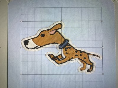 Jumping Dog INSTANT DOWNLOAD