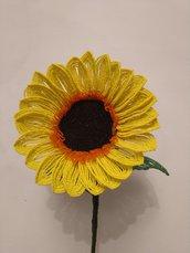 Girasole di perline sunflower