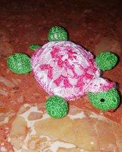tartaruga amigrumi all'uncinetto