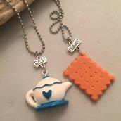 Collana Best Friends - Thè e biscotti