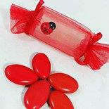 Bomboniera laurea scatolina con confetti