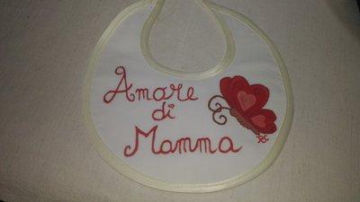 "BAVAGLINO ""Amore di Mamma"" in pittura"