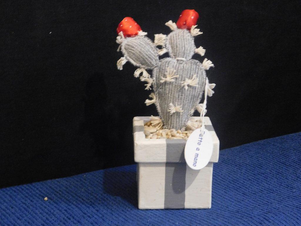 Natale Profumatore ambiente vaso pianta grassa mod.fico d'india