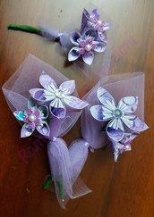 fiore all'occhiello sposo e testimone- bouttoniere sposo e testimone
