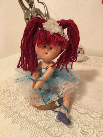 Ballerina bambola in pannolenci