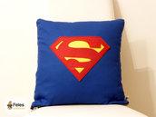 Fodera cuscino ispirata a Superman