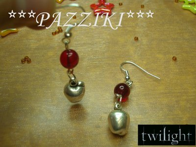 orecchini serie TWILIGHT
