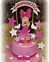 Torta finta Minnie