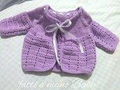 Giacchina neonata coprifasce