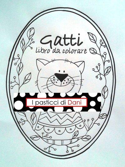 Libro per bambini da colorare PDF - Gatti