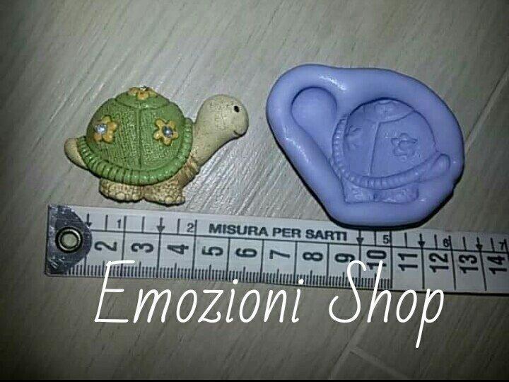 Stampo tartaruga portafortuna