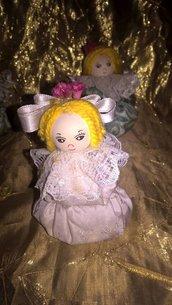 bamboline  in stoffa