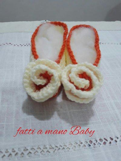 Scarpette neonati nascita