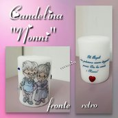Candele decorate personalizzate