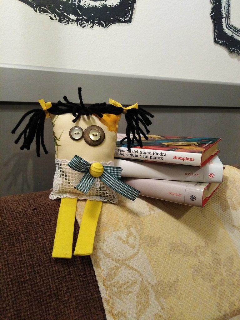 Marisa.. La bambola di stoffa