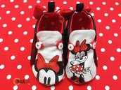 Scarpe neonata Minnie