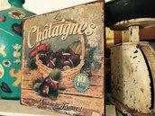 Tavolette legno vintage