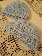 Cappellino lana neonato