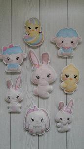 Decorazioni di Pasqua in pannolenci