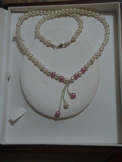 collana perle cerate