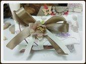 Sacchettino Fiorato Wedding Romantico Matrimonio con confetti