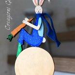 Coniglietto in legno