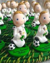 Statuina comunione tema calcio