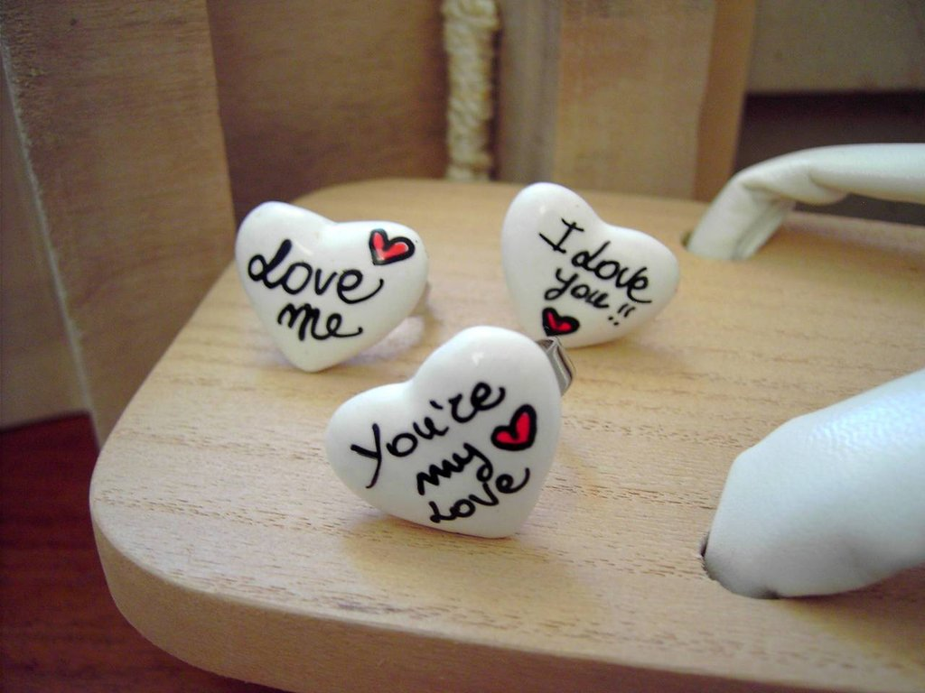 Love Message Ring - Messaggi
