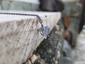 Collana pendente cuore in cristallo Swarovski autentico, collana dimostrazione amore, Regali ragazza