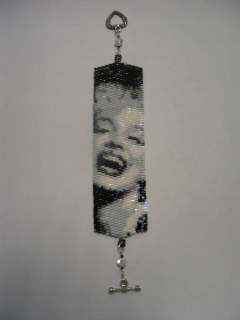 Braccialetto Miyuki Marilyn Monroe