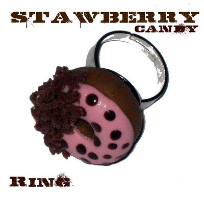 Strawberry Candy Donut