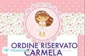 ORDINE RISERVATO - Carmela