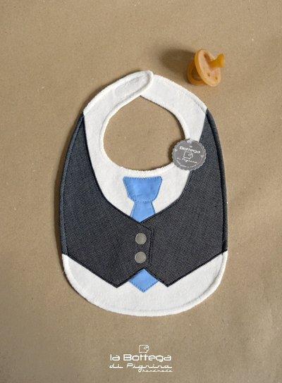 Bavaglino Gilet e Cravatta