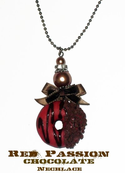 Red Passion Chocolate Necklace