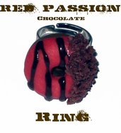 Red Passion Chocolate Ring